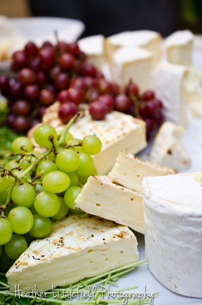 cheese and grapes wedding appetizers wedding detail mount pleasant country club wedding