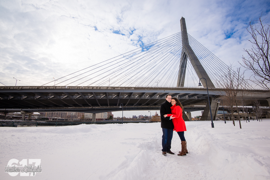 zakim bridge engagement photos